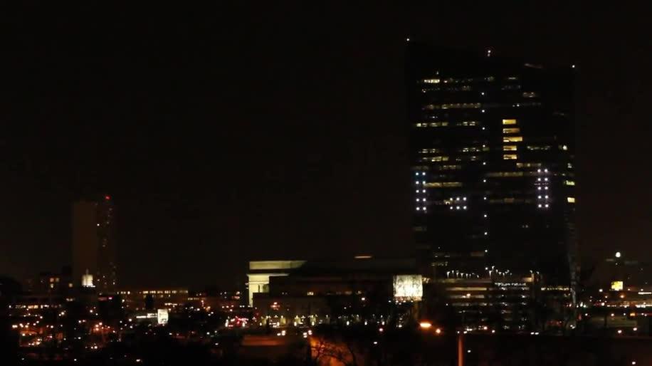 Usa, Game, Pong, Philadelphia, Wolkenkratzer