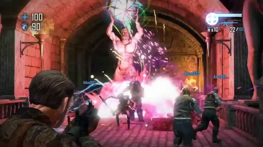 Trailer, actionspiel, Atlus, God Mode