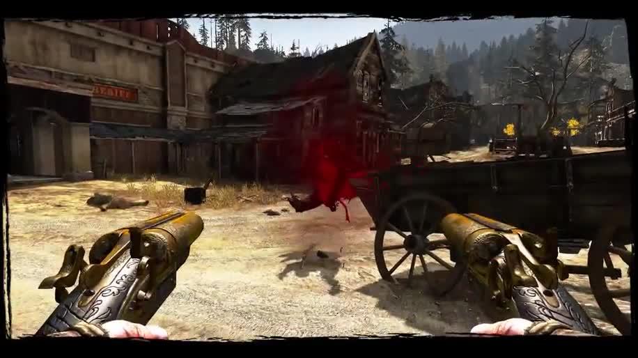 Trailer, Ubisoft, actionspiel, Call of Juarez, Gunslinger