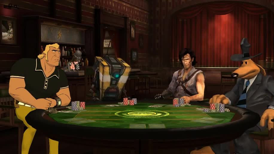 Trailer, Telltale, Poker, Poker Night 2