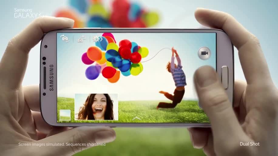 Smartphone, Samsung, Werbespot, Samsung Galaxy S4, Galaxy S4, S4