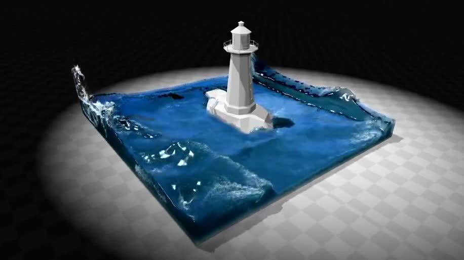 Nvidia, PhysX, Wasser, Physik Engine