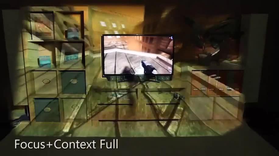 Microsoft, Microsoft Corporation, Microsoft Research, Projektor, IllumiRoom