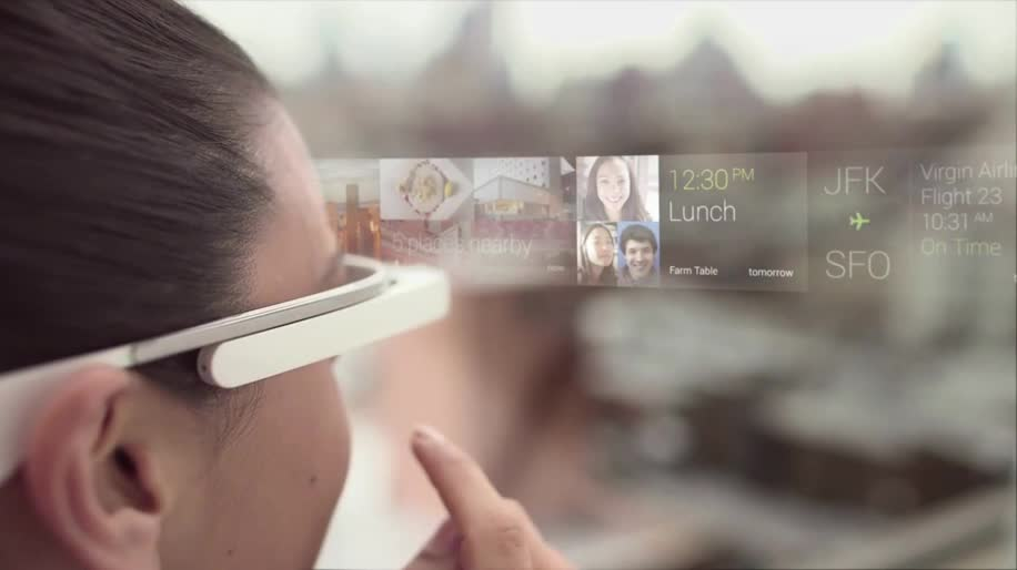 Google, Werbespot, Augmented Reality, Cyberbrille, Google Glass, Tutorial