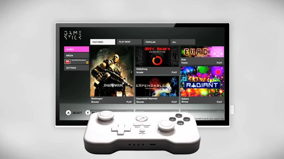 Android, Konsole, Spielkonsole, GameStick, PlayJam GameStick