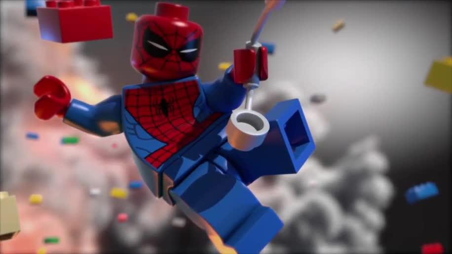 Teaser, Lego, Lego Marvel Super Heroes
