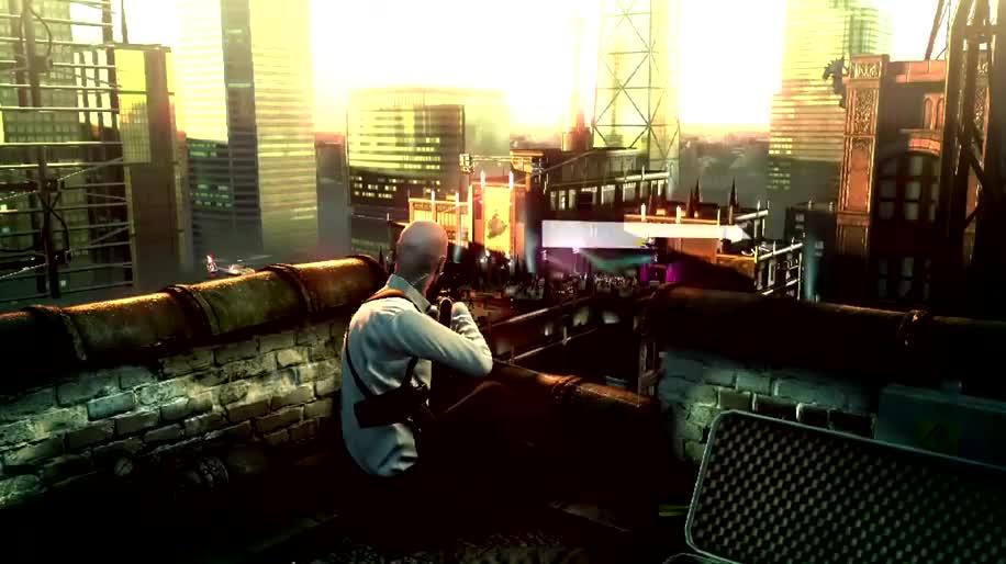 Trailer, Square Enix, Hitman, IO Interactive, Sniper Challenge
