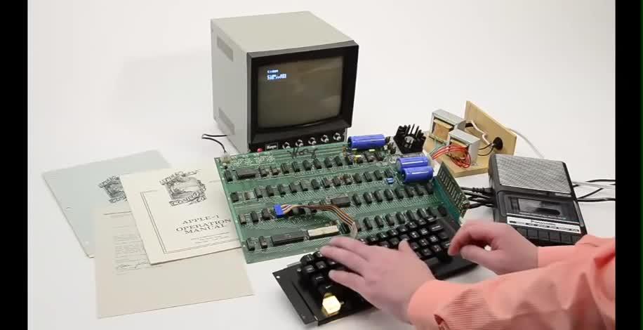 Apple, Pc, Computer, Auktion, Versteigerung, apple i, Apple Computer, 6502