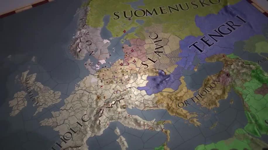 Trailer, Strategiespiel, Erweiterung, Crusader Kings II, Crusader Kings, The Old Gods