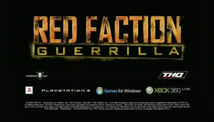 Guerrilla, Red Faction 3, Zerstörungsmöglichkeiten