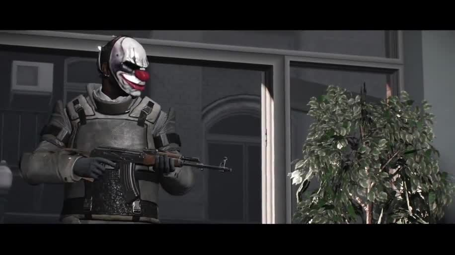 Trailer, Ego-Shooter, 505 Games, Payday 2, Payday