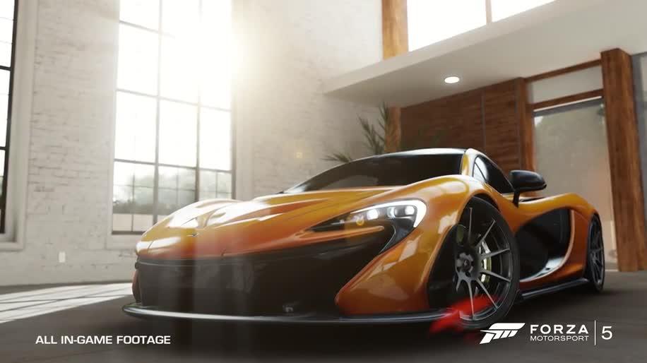 Microsoft, Trailer, Xbox One, E3, Microsoft Xbox One, Rennspiel, E3 2013, Forza, Forza Motorsport, Forza Motorsport 5