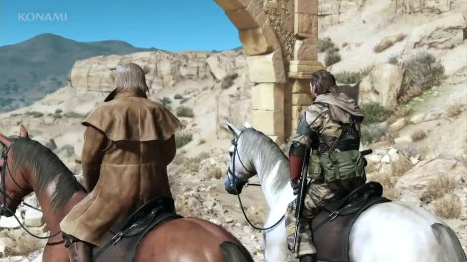 Trailer, E3, Konami, E3 2013, Metal Gear Solid, Hideo Kojima, Metal Gear Solid 5, The Phantom Pain