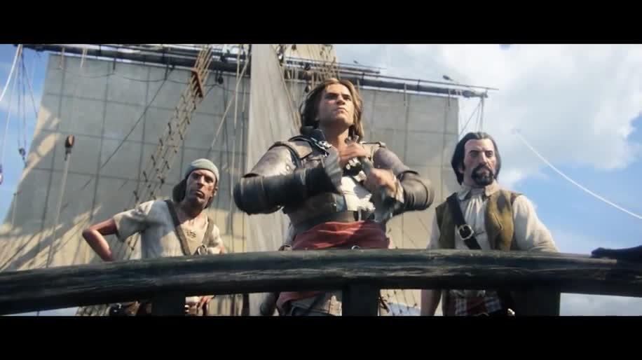 Trailer, E3, Ubisoft, Assassin's Creed, E3 2013, Assassin's Creed 4, Assassin's Creed 4: Black Flag, Black Flag